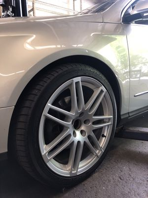 Audi S4 rims and tires package 255/30 ZR19 XL HP for Sale in Sherborn, MA