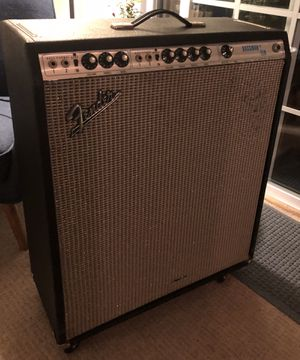 Fender Bassman tube amp for Sale in Canton, MA