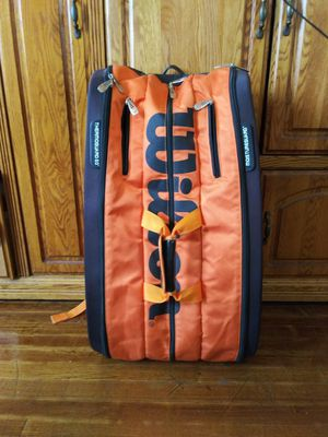 Wilson Burn Racquet Bag for Sale in Chicago, IL