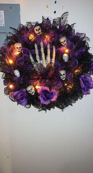 Halloween wreath for Sale in San Antonio, TX