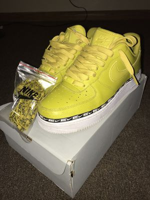 Yellow AF1 for Sale in Milwaukee, WI