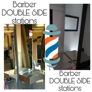 Barber or hairstylist station double side for Sale in San Jose, CA