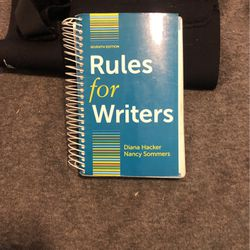 Rules For Writers 7th Edition for Sale in Portland,  OR