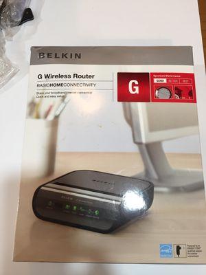 Belkin Wireless Router for Sale in Woodbridge, VA