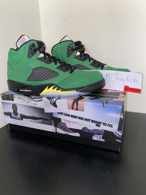 Jordan 5 Apple Green for Sale in South River, NJ