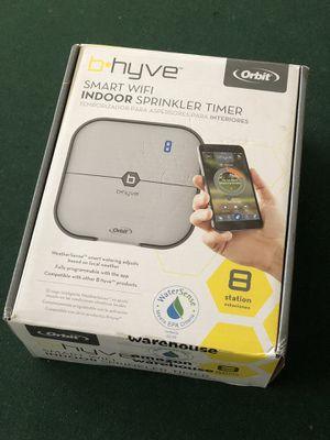 Orbit B-Hyve. Smart WiFi sprinkler timer 8 station by Orbit for Sale in Yuba City, CA
