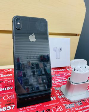 📱📱⌚️iPhone X 64GB factory unlocked with warranty for Sale in Tampa, FL