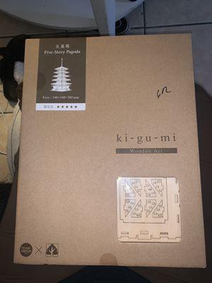 Ki gu mi Pagoda wood art for Sale in Buena Park, CA