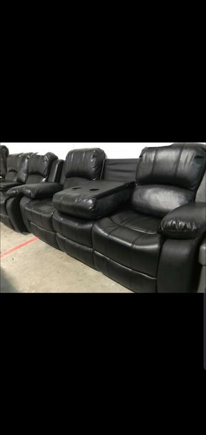 2PC living room sofa recliners NIB Sofa and Loveseat included for Sale in Houston, TX