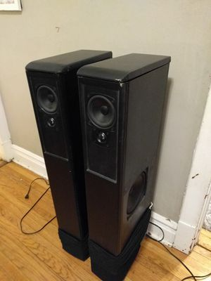 Boston Acoustic Speaker/Subwoofer Pair for Sale in Chicago, IL