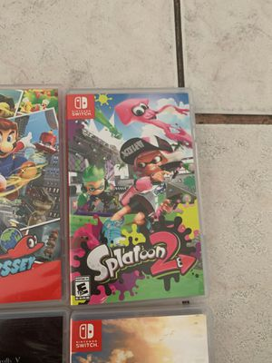 Nintendo switch games for Sale in Fullerton, CA