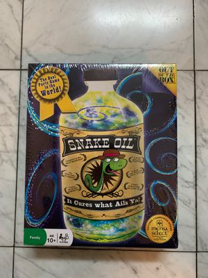 Snake Oil Party/Family Game for Sale in Brea, CA