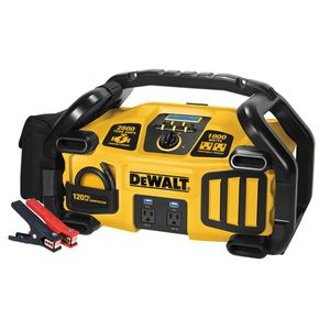 DEWALT 2800 Peak Amp Jump Starter 1000-Watt Power Inverter with Digital Compressor for Sale in Phoenix, AZ