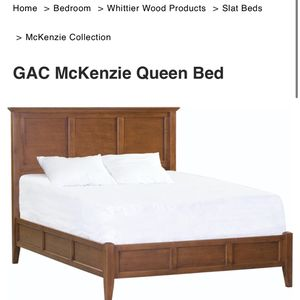 Queen Sized Complete Bed Frame for Sale in Olympia, WA