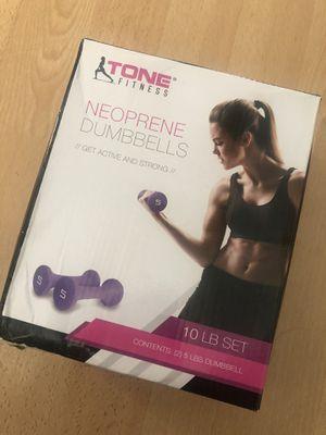 10lb set neoprene weights for Sale in Clackamas, OR