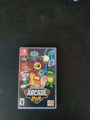 Nintendo Switch Namco Museum Arcade Pac for Sale in Las Vegas, NV