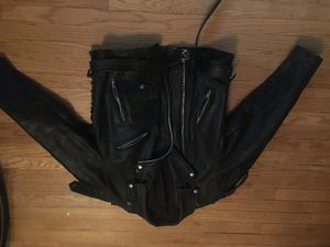 motorcycle leather jacket for Sale in Milwaukee, WI