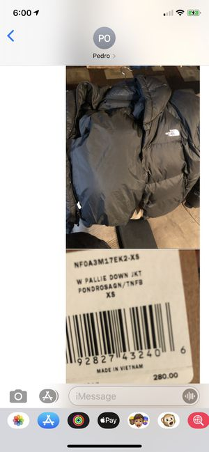 North face women's jackets as well as Patagonia women's jackets all brand new for Sale in Santa Clara, CA