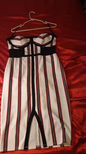 Halter top dress size large for Sale in Everett, WA