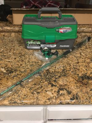Fishing Pole & Tackle Combo Set for Sale in Highland, CA