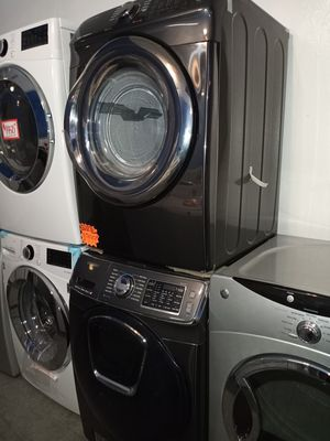 NEW SCRATCH AND DENT SAMSUNG GAS DRYER AND USED WASHER SET WITH WARRANTY for Sale in Baltimore, MD