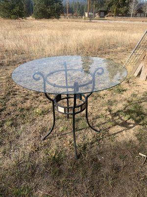 Glass table for Sale in Leavenworth, WA