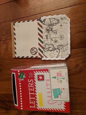 Letters to santa for Sale in Easton, PA