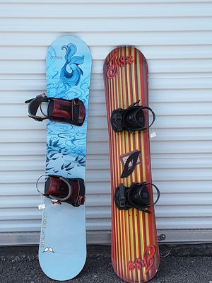 New snowboards with bindings for Sale in Murfreesboro, TN