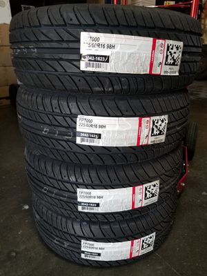 225 60 16 NEW TIRES for Sale in Colton, CA