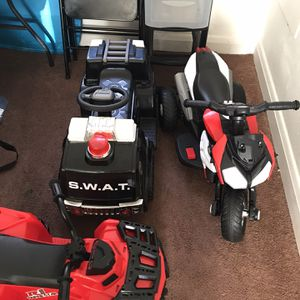 3 Kids Power Wheels for Sale in Baltimore, MD