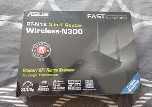 Asus wifi router 3-1 ..brand new and sealed in box for Sale in Plano, TX
