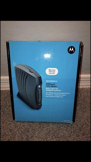 Motorola Surfboard Cable Modem for Sale in Phoenix, AZ