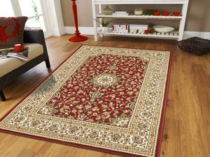 Red traditional area rug 5x8 Persian for Sale in Baltimore, MD