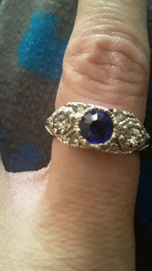 Sapphire ring sz8 for Sale in White Hall, WV