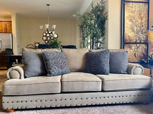 Sofa, single chair, and Ottoman for Sale in South Jordan, UT