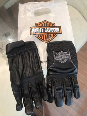 Brand New Harley Davidson Leather Gloves - Men's Large for Sale in North Springfield, VA