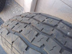 235/80/16 trailer tire with good tread for Sale in Montebello, CA