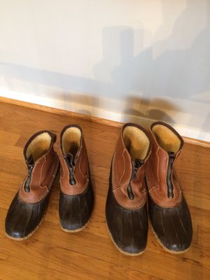 LL Bean duck boots for Sale in Sudley Springs, VA