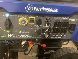 Portable generator 7500DF for Sale in Fremont, CA
