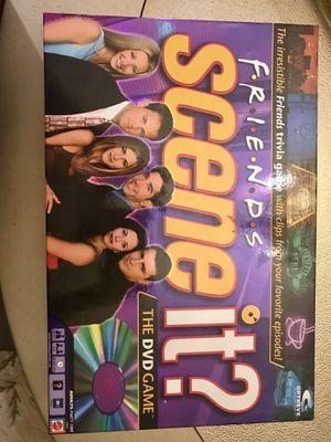 "New Friends Trivia Game: ""Scene It"" DVD Game for Sale in Belleville, IL"