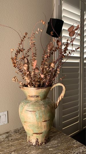 Indoor fake plant and vase for Sale in Alta Loma, CA