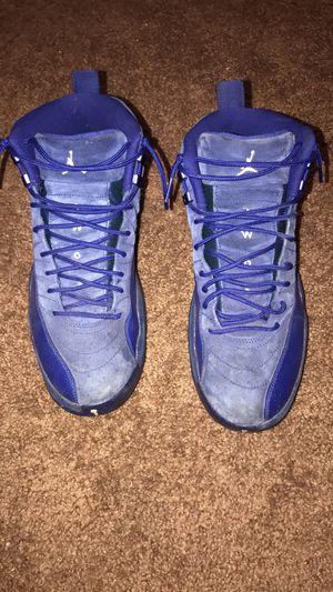 Jordan 12 royals blue for Sale in Parlier, CA