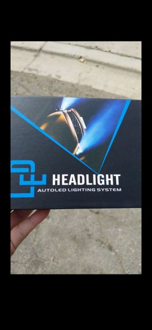 6000k LED headlights- H11 for Sale in Garden Grove, CA
