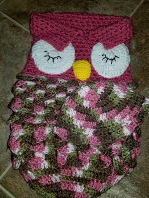 Baby owl baby gift for Sale in St. Cloud, MN