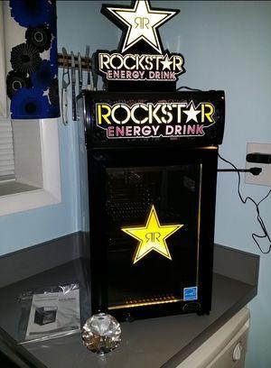 Mini Fridge Rockstar Wrapped for Sale in Arlington, VA