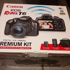 Canon eo6 Rebel T6 premium kit for Sale in New York, NY