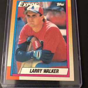 Topps Larry Walker rookie card for Sale in Ridge, NY