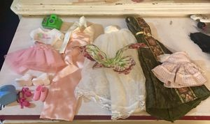 Barbie Wedding Dress And Outfits for Sale in Orangevale, CA