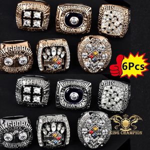 1974 1975 1978 1979 2005 2008 Pittsburgh Steelers Super Bowl Championship Ring Set for Sale in Bakersfield, CA
