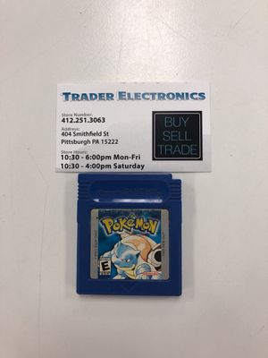 Pokémon blue for Sale in Pittsburgh, PA
